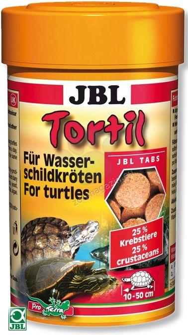 JBL Tortil - храна за костенурки таблетки 60 гр  100 мл
