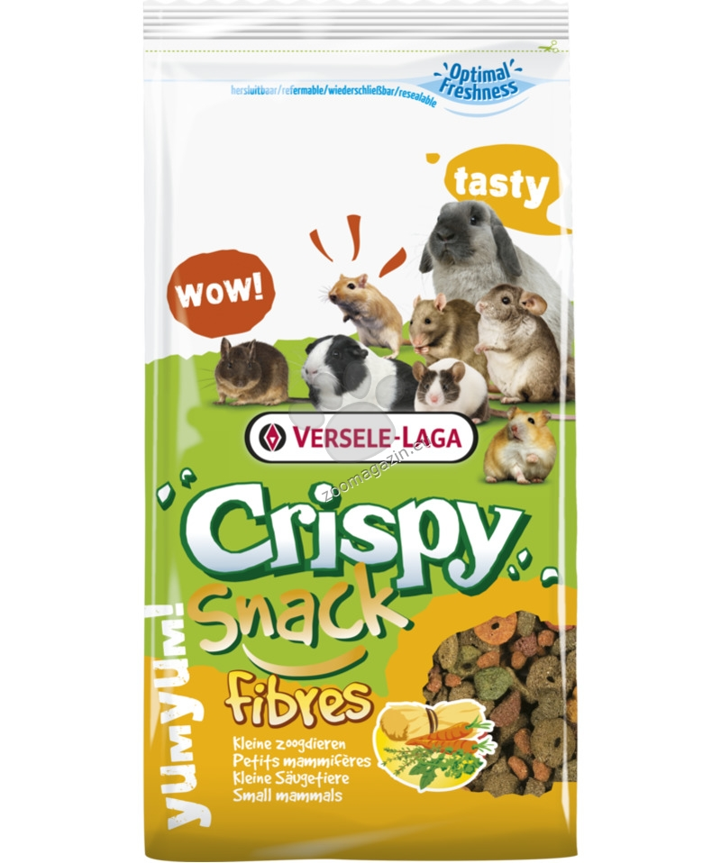 Versele Laga - Crispy Snack Fibres - гранулирана храна за гризачи 15 кг.
