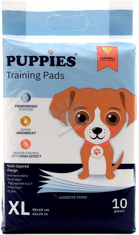 Puppies - хигиенна подложка с феромони 90 / 60 см.,  10 броя
