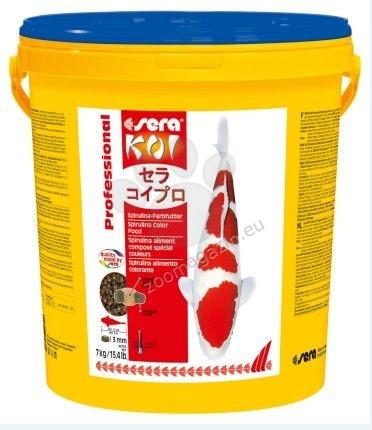 Sera - Koi Professional Spirulina - за контраст и оцветяване, 7 кг.
