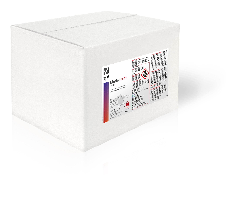 Мurin Forte Pasta - Готова за употреба родентицидка примамки за професионална употреба 20 кг.