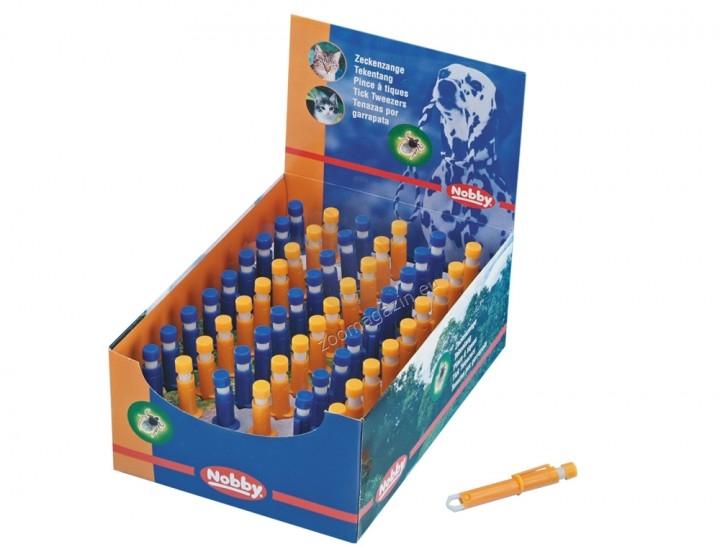 Nobby Tick tweezers - щипка за махане на кърлежи / синя, оранжева /