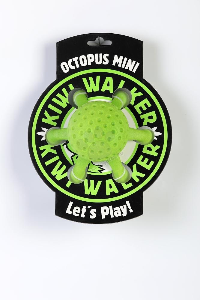 Kiwi Walker Octopus Toy Mini - октопод 12 см. / жълто, зелено, синьо, розово /