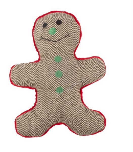 Pet Brands Christmas Gingerbread Man Toy - коледна играчка 23 см.
