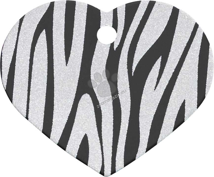 iMARC - Black Zebra Heart