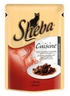Sheba Causine Beef - с филенца говеждо месо в сос 85 гр.