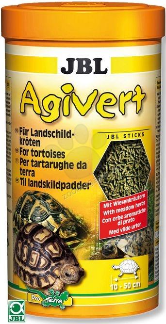JBL Agivert - храна за костенурки 250 мл.