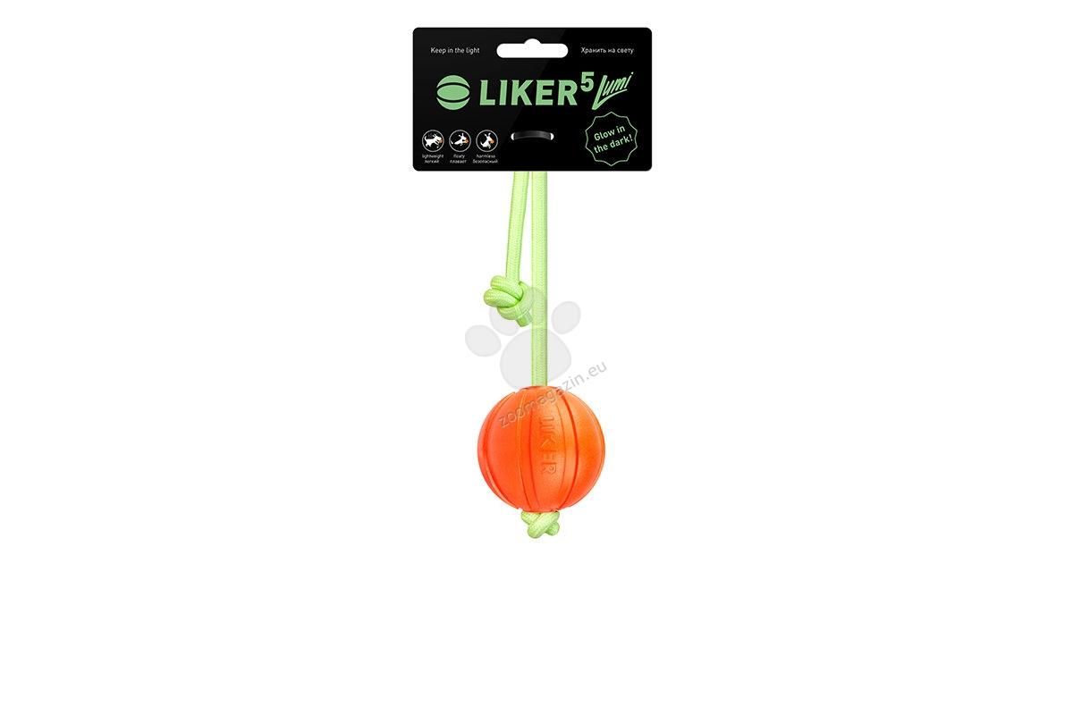Liker Lumi 7 - уникална светеща и плаваща топка, 7 см
