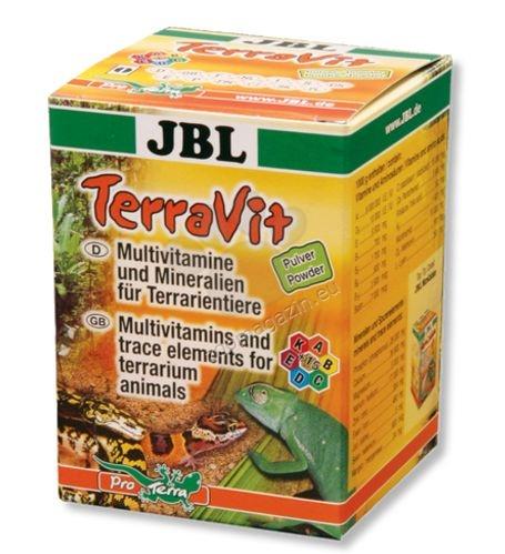 JBL TerraVit - мултивитамини за терариумни животни /прах/ 100 грама