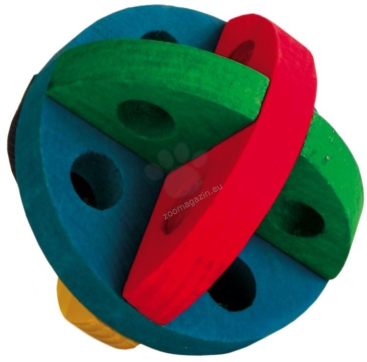 Trixie Play and Snack Ball - играчка за мини зайчета ø 8 cм.