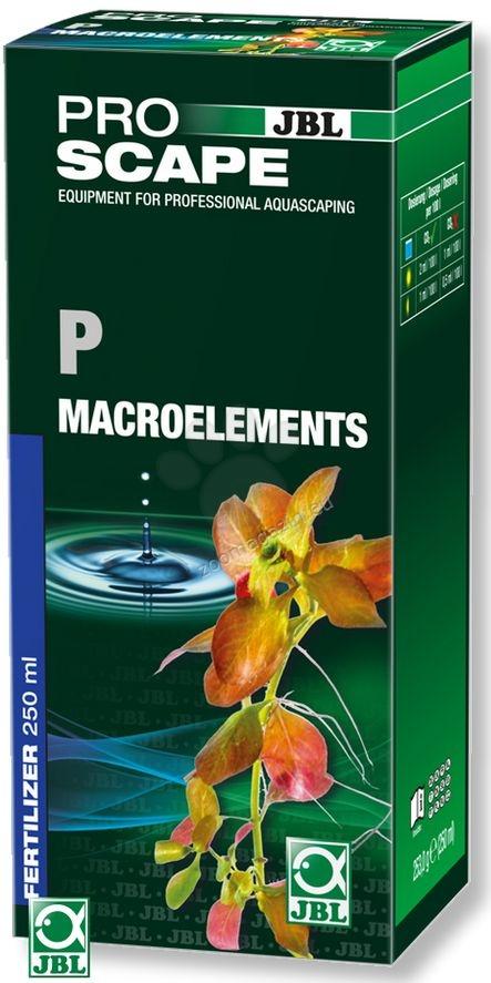 JBL ProScape P + Microelements - основна тор с фосфати, и пълните микроелементи, необходими за растенията 250 мл.
