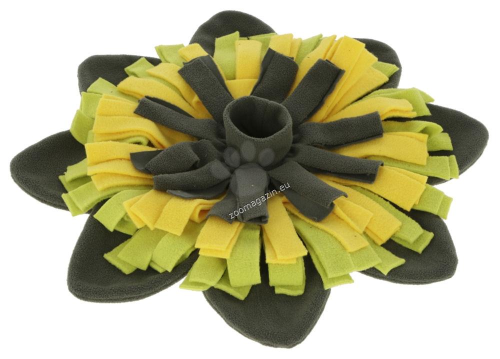 Kerbl Snuffle Mat Sunflower - килимче за лакомства, цвете 40 см.