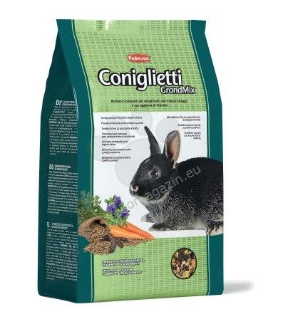 Padovan Grandmix conigletti - пълноценна балансирана храна за мини зайчета 3 кг.