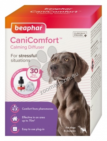 Beaphar Cani Comfort - Успокояващ дифузер с феромони 48 мл.