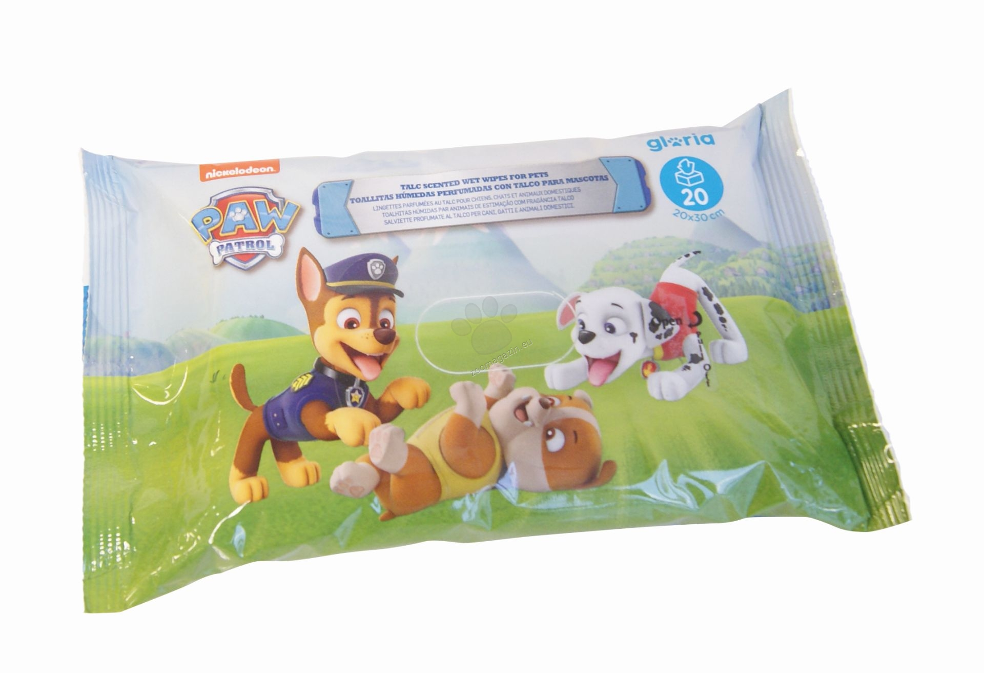 Paw Patrol 20 Br Wipes Online Pet Shop Drstefanov