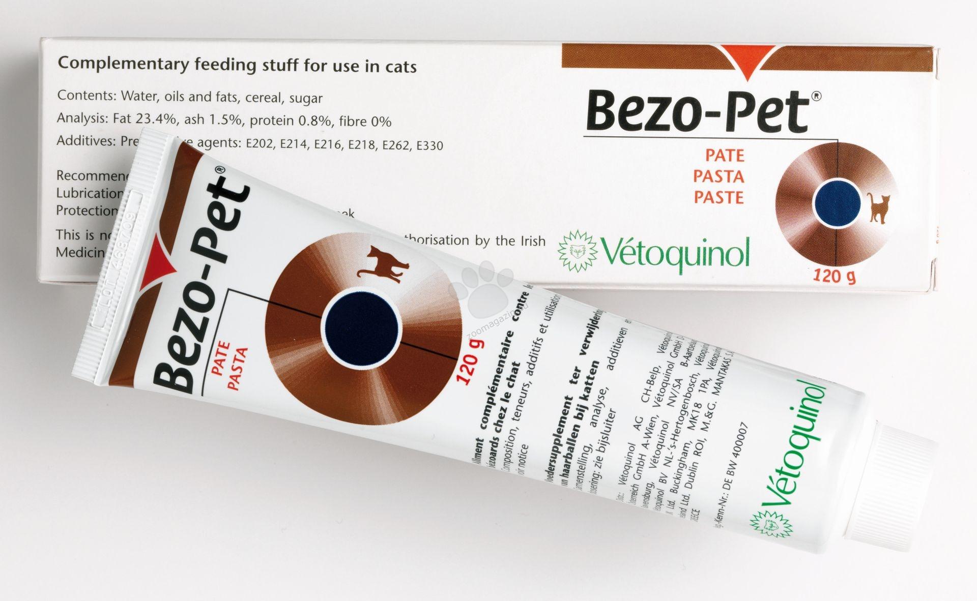 Vetoquinol - Bezo Pet - за отделяне на космените топки 120 грама