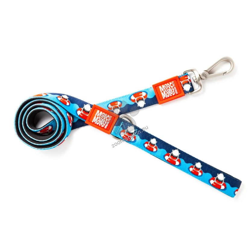 Max Molly Short Leash Frenzy the Shark S - повод 120 см. / 15 мм.
