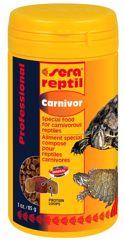 Sera - Reptil Professional Carnivor - ко-екструдирана храна за месоядни влечуги 250 мл.