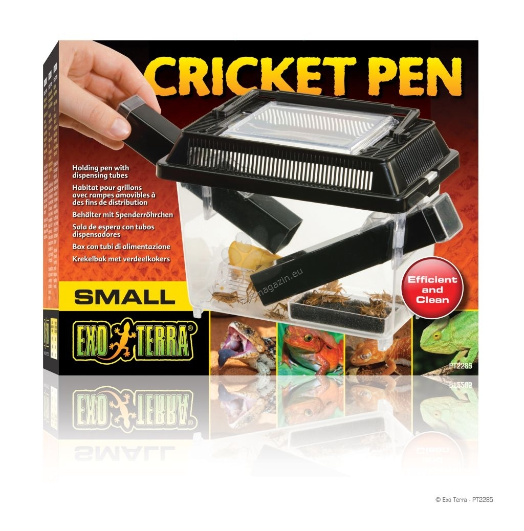 Exo Terra Cricket Pen - εντόμων ενυδρείο εκτροφής τριζόνιων 30/20.5/19.5 cm