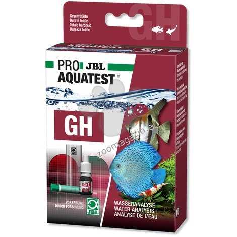 JBL Proaquatest GH General - тест за измерване общата твърдост на сладка вода