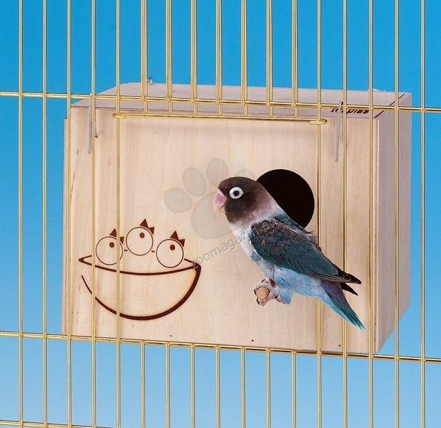 Ferplast Nido Small - φωλιά σπίτι για πουλιά  13 x 12 x h 17 cm