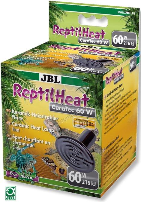 JBL ReptilHeat 60W - керамичен нагревател за терариуми