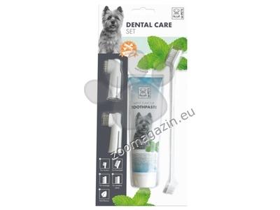 M-Pets Dental Care Set - четки с паста за зъби