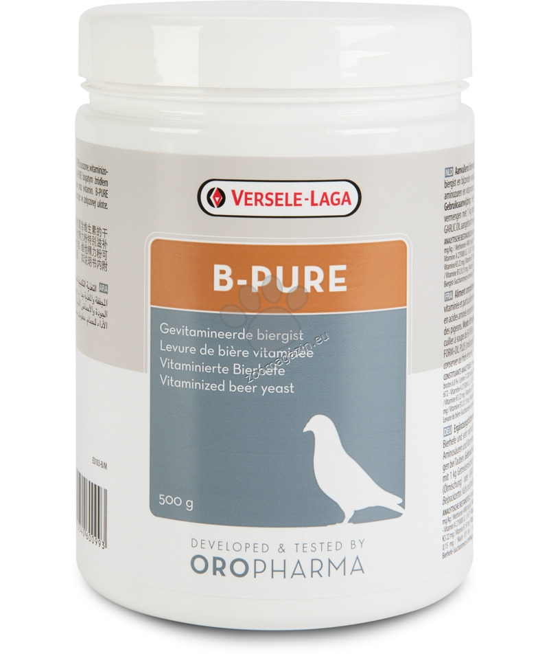 Versele Laga - Oropharma B-Pure - суха бирена мая 500 гр.