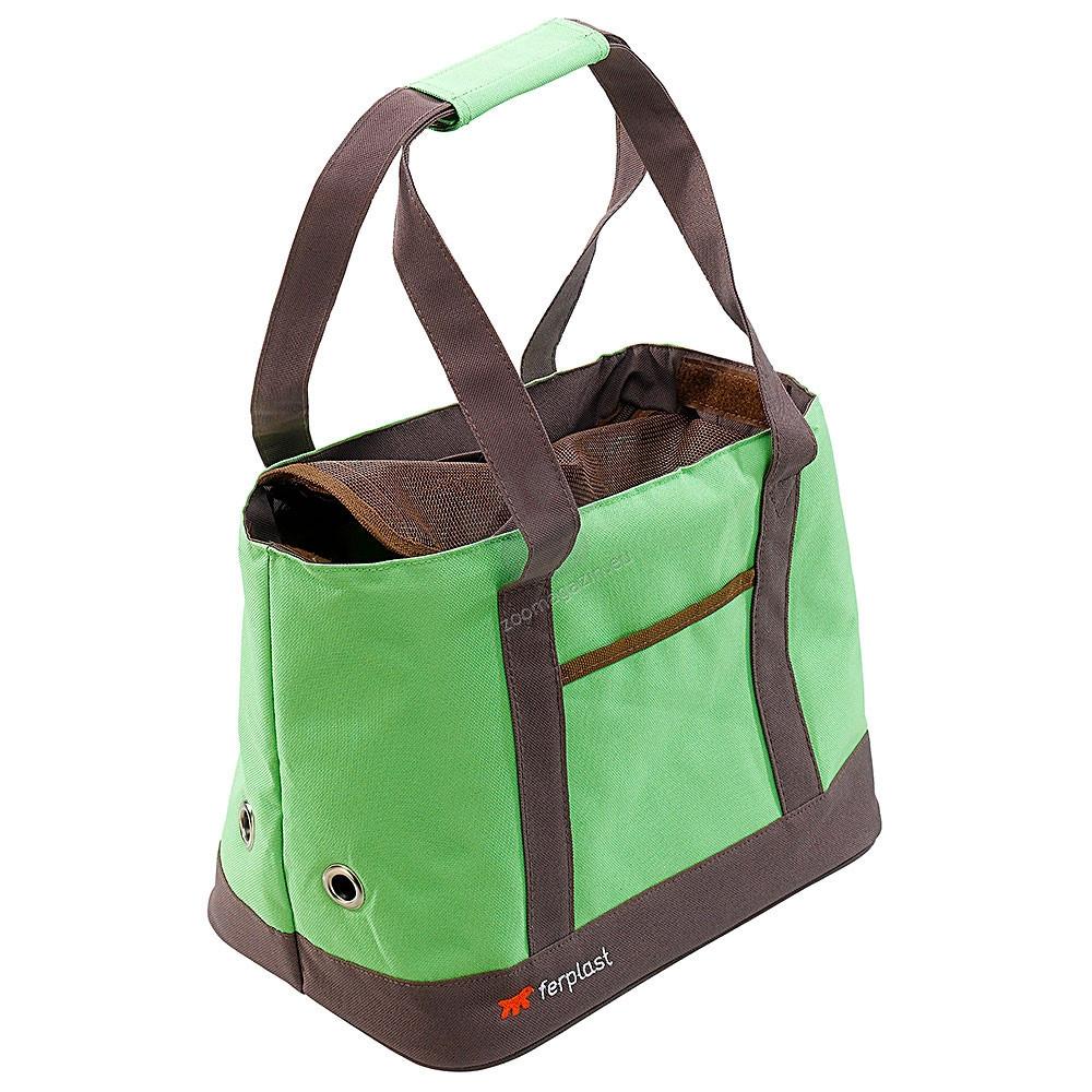 Ferplast - Malibu - транспортна чанта 33 / 21.5 / 24 см. / синя, зелена, розова /