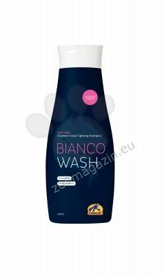 Cavalor Bianco Wash - нежен шампоан, който премахва петната подходящ за всички цветове на козината 500 мл.