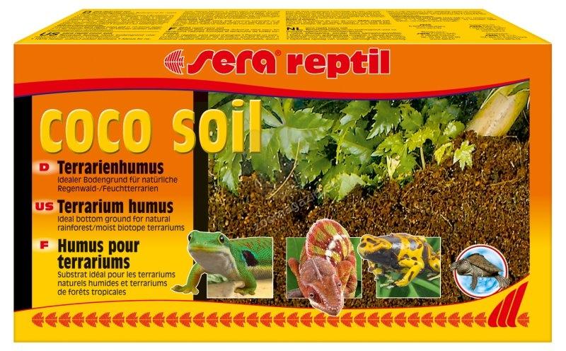 Sera - Coco Soil - пресован кокосов субстрат 8 литра