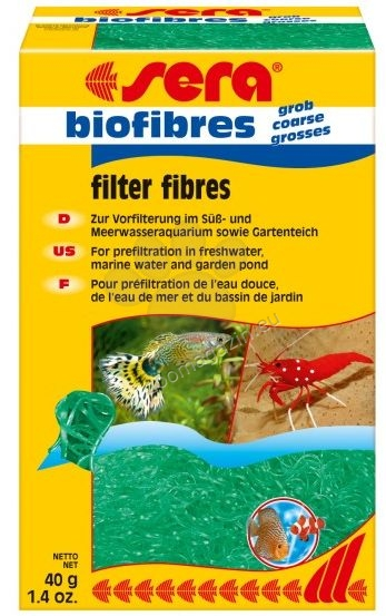 Sera - Biofibres coarse  - филтърен пълнеж за механично пречистване на водата  40 гр