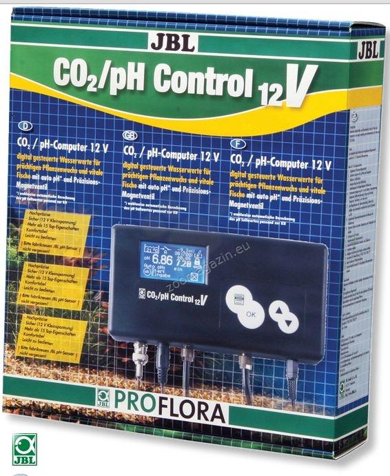 JBL ProFlora CO2 pH Control 12V - високотехнологичен СО2/pH компютър с 15 функции (без електрод)