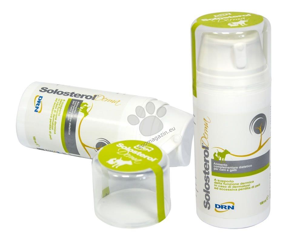 Solosterol Derma - За подпомагане на кожната функция и предпазване от дерматози 100 мл.