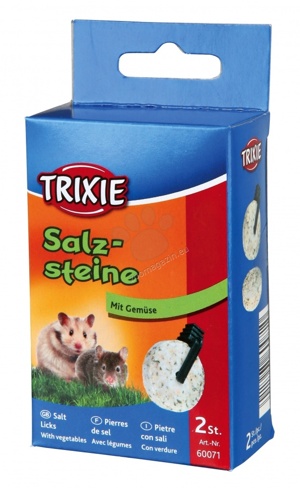 Trixie Salt Lick with Vegetables - αλμυρό μπλοκ με λαχανικά 2 х 60 gr.
