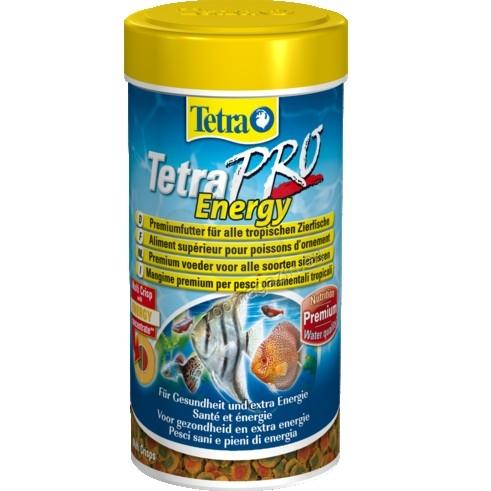 Tetra - TetraPro Energy - храна за тропически рибки за повече жизненост 250 мл.