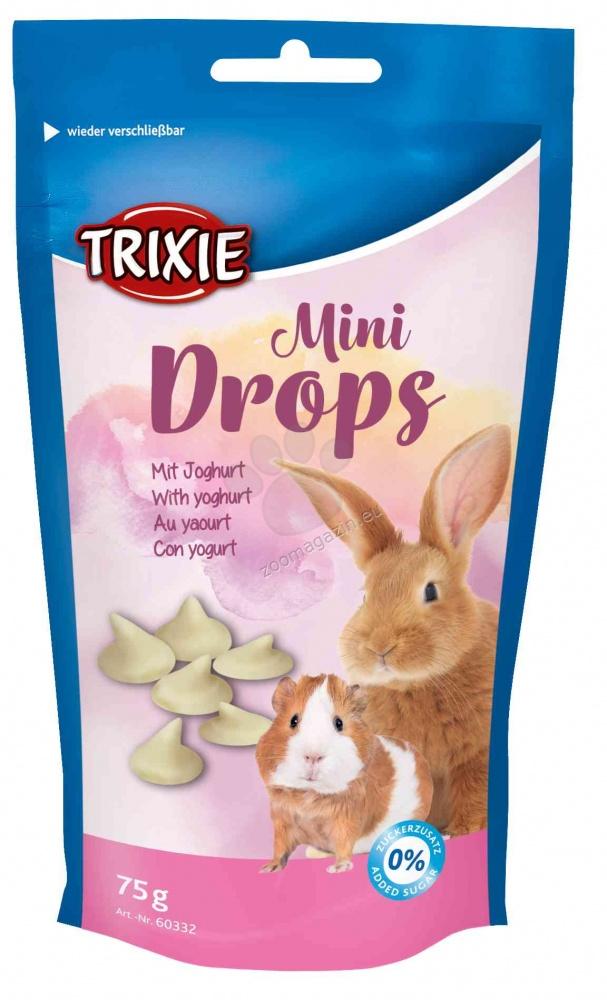 Trixie Mini Drops - деликатесно лакомство с йогурт за морски свинчета и мини зайчета 70 гр.