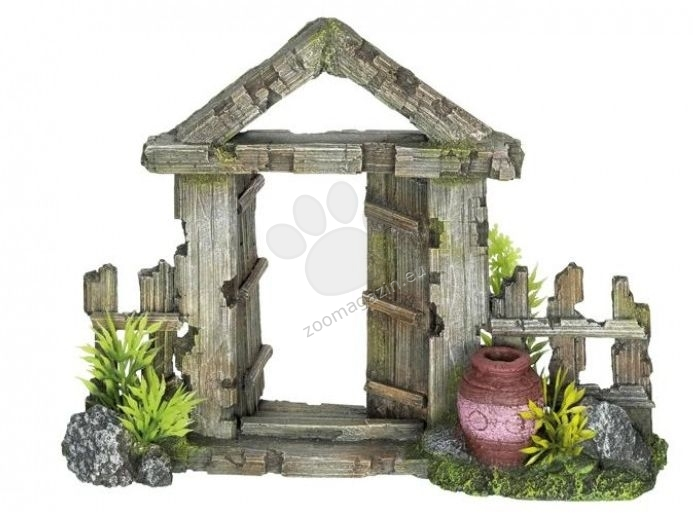 Nobby Wooden Gate With Jar - декорация за аквариум 21 / 7.5 / 16 см.