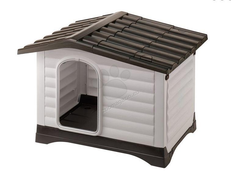 Ferplast  - Dogvilla 70 - пластмасова къща за куче 73 / 59 / 53 cm
