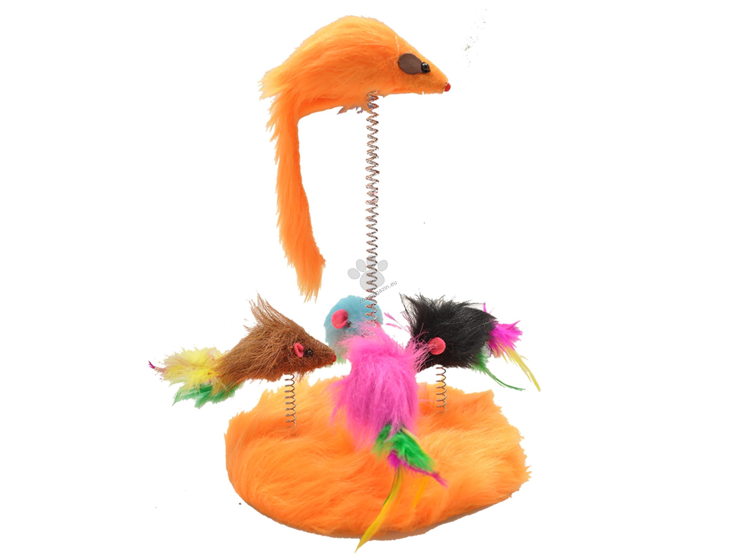 Vadigran Cat toy playground - Kотешка играчка с мишки 17 см.