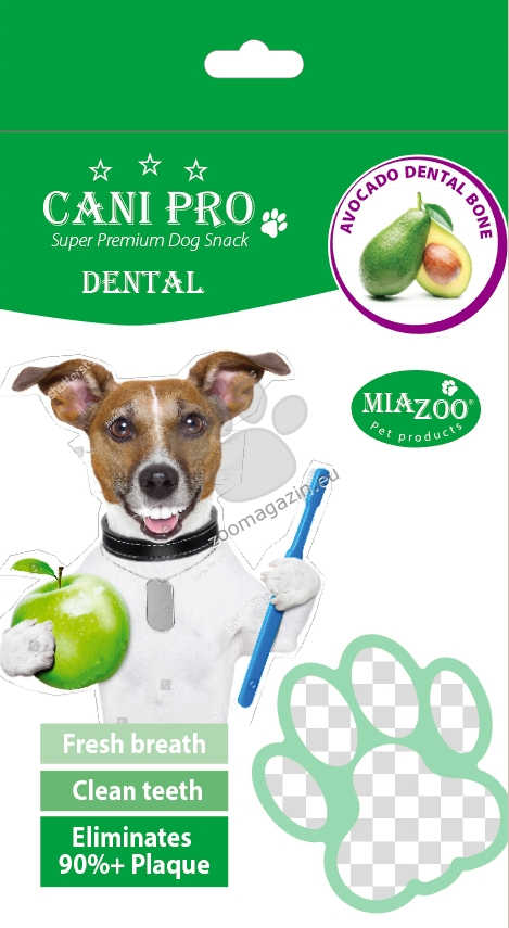 Miazoo Cani Pro Avocado Dental Bones - дентални кокалчета с авокадо 84 гр.