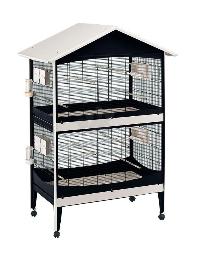 Ferplast - Aviary Duetto - волиера за малки птички 119.5 / 75 / 169.5 см.