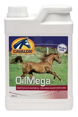Cavalor OilMega - микс от различни растителни масла за осигуряване на балансиран профил на мастните киселини 2 л.