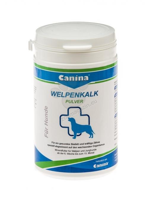Canina Welpenkalk Powder (Puppy Lime) - минерална добавка за кученца, която оптимално регулира минералния баланс в растящия организъм, 300 грама /на прах/