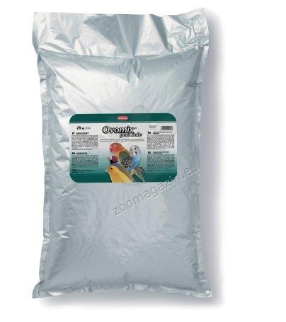 Padovan Ovomix gold giallo - хранителна добавка за канарчета, вълнисти папагали и екзотични птици 25 кг.
