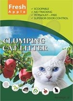 Valenger Clumping Cat Litter Fresh Apple - бентонитова тоалетна с аромат на ябълки 5 литра