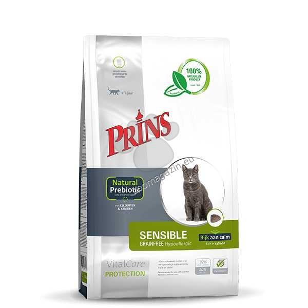 VitalCare Protection SENSIBLE Grainfree Hypoallergic - за котки с чувствителна храносмилателна система, кожа и козина 5 кг.