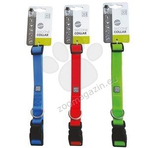 M-Pets Silicone Collars - силиконов нашийник 30 см. / 1.5 см. / жълт, розов, син /