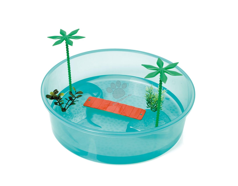 Georplast - Tortuga Isla - терариум за водни костенурки 26 см.
