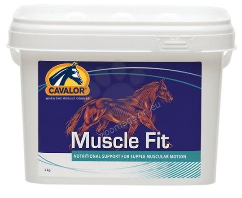 Cavalor Muscle Fit - за подобряване на действието на мускулите преди тежки натоварвания 60 х 15 гр.